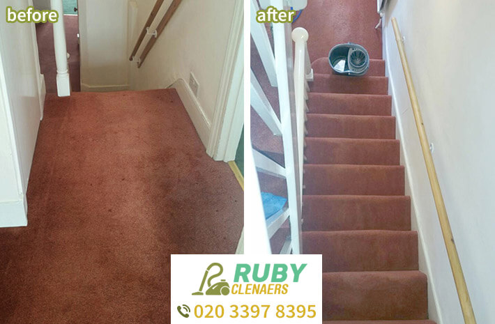 upholstery cleaning Virginia Water